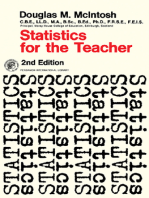 Statistics for the Teacher: Pergamon International Library of Science, Technology, Engineering and Social Studies