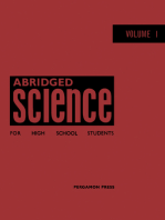 Abridged Science for High School Students