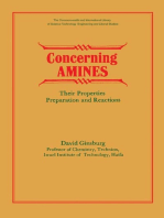 Concerning Amines: Their Properties, Preparation and Reactions
