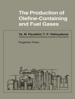 The Production of Olefine-Containing and Fuel Gases