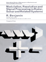 Modulation, Resolution and Signal Processing in Radar, Sonar and Related Systems