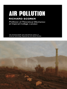 Air Pollution: The Commonwealth and International Library: Meteorology Division