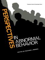 Perspectives in Abnormal Behavior