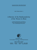 A Review of the Radiosensitivity of the Tissues in Bone