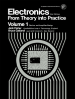 Electronics—From Theory Into Practice: Pergamon International Library of Science, Technology, Engineering and Social Studies