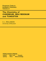 The Chemistry of Chromium, Molybdenum and Tungsten