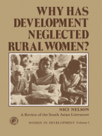 Why Has Development Neglected Rural Women?: A Review of the South Asian Literature