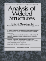 Analysis of Welded Structures: Residual Stresses, Distortion, and Their Consequences