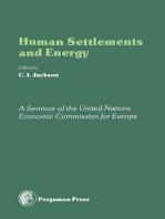 Human Settlements and Energy