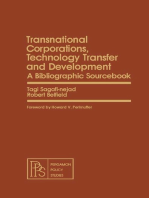 Transnational Corporations, Technology Transfer and Development: A Bibliographic Sourcebook