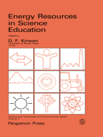 Energy Resources in Science Education