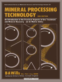 Mineral Processing Technology: An Introduction to the Practical Aspects of Ore Treatment and Mineral Recovery