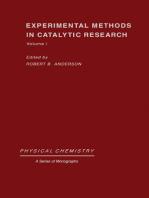 Experimental Methods in Catalytic Research