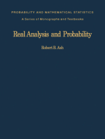 Real Analysis and Probability: Probability and Mathematical Statistics: A Series of Monographs and Textbooks