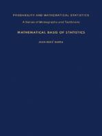 Mathematical Basis of Statistics
