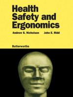 Health, Safety and Ergonomics
