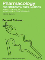 Pharmacology for Student and Pupil Nurses and Students in Associated Professions