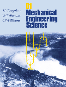Mechanical Engineering Science: In SI Units