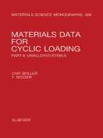 Materials Data for Cyclic Loading: Unalloyed Steels