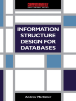 Information Structure Design for Databases: A Practical Guide to Data Modelling