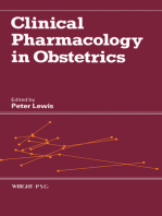 Clinical Pharmacology in Obstetrics