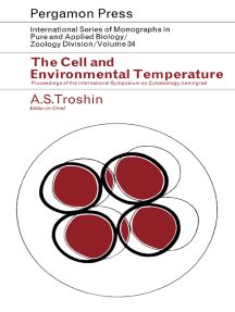 The Cell and Environmental Temperature: Proceedings of the International Symposium on Cytoecology