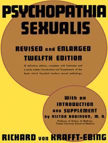Psychopathia Sexualis: A Medico-Forensic Study