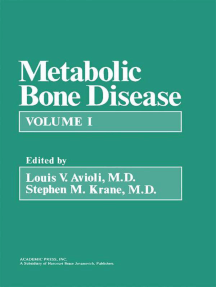 Metabolic Bone Disease: Volume 1