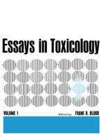 Essays in Toxicology