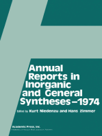 Annual Reports in Inorganic and General Syntheses-1974