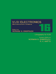 Lithography for VLSI: VLSI Electronics Microstructure Science