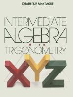 Intermediate Algebra with Trigonometry