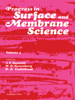Progress in Surface and Membrane Science: Volume 4