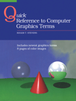 Quick Reference to Computer Graphics Terms