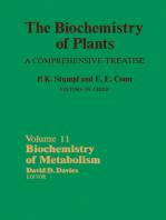 Biochemistry of Metabolism: The Biochemistry of Plants