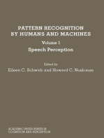Pattern Recognition by Humans and Machines