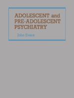 Adolescent and Pre-Adolescent Psychiatry