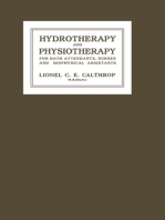 Hydrotherapy and Physiotherapy
