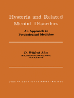Hysteria and Related Mental Disorders