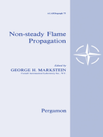 Nonsteady Flame Propagation