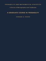 A Graduate Course in Probability