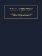 Progress in Refrigeration Science and Technology: Proceedings of the XIth International Congress of Refrigeration, Munich, 1963