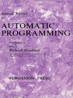 Annual Review in Automatic Programming