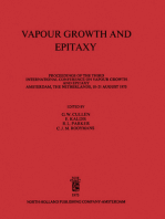Vapour Growth and Epitaxy: Proceedings of the Third International Conference on Vapour Growth and Epitaxy, Amsterdam, The Netherlands, 18–21 August 1975