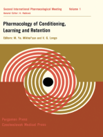 Pharmacology of Conditioning, Learning and Retention: Proceedings of the Second International Pharmacological Meeting