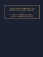 Progress in Refrigeration Science and Technology