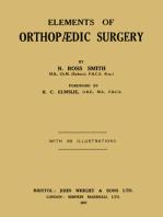 Elements of Orthopædic Surgery