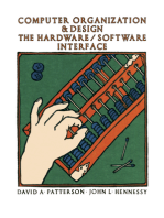 Computer Organization and Design: The Hardware / Software Interface