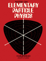 Notes on Elementary Particle Physics