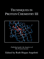 Techniques in Protein Chemistry III